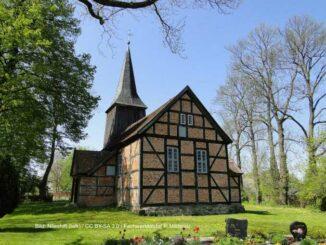 Fachwerkkirche in Mildenitz