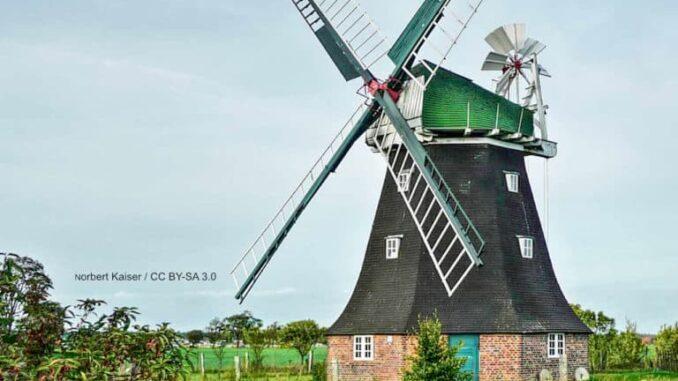 Holländerwindmühle Rövershagen