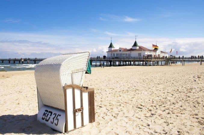 Ostsee Karte & Urlaubsorte