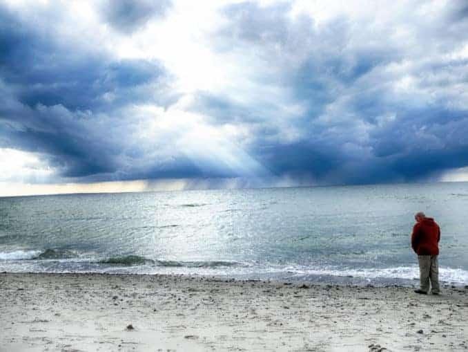 Der Alte Mann und die Ostsee (Fehmarn)