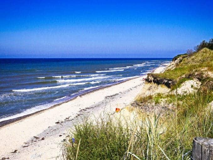Insel Rügen Strand Baltic Sea