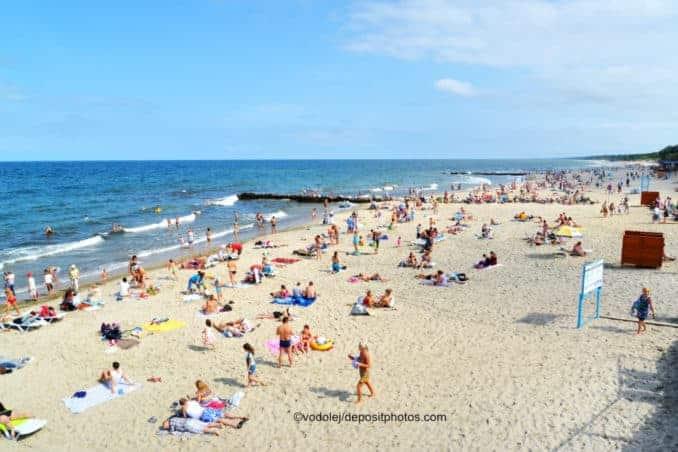 Strand Russische Ostsee / Baltic Sea