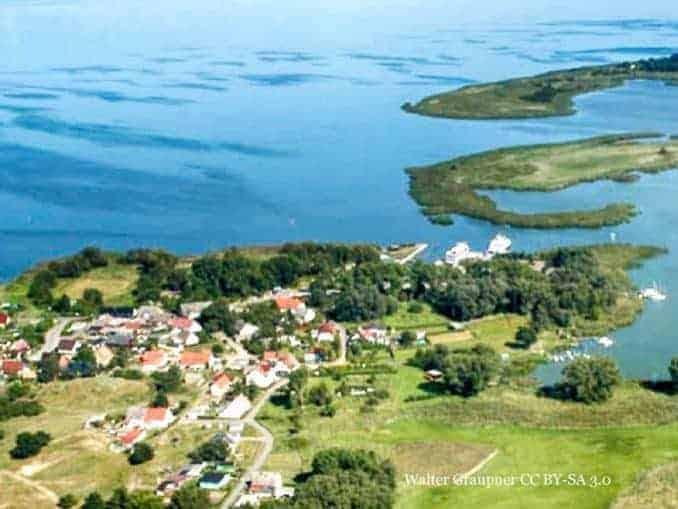 Altwarp Ostseeurlaub in idyllischer Natur