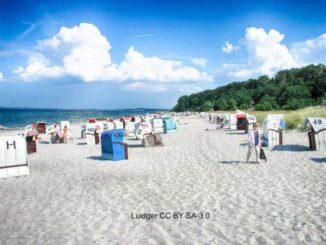Hohwacht Sandstrand mit Steilküste 🇩🇪 Urlaubsorte