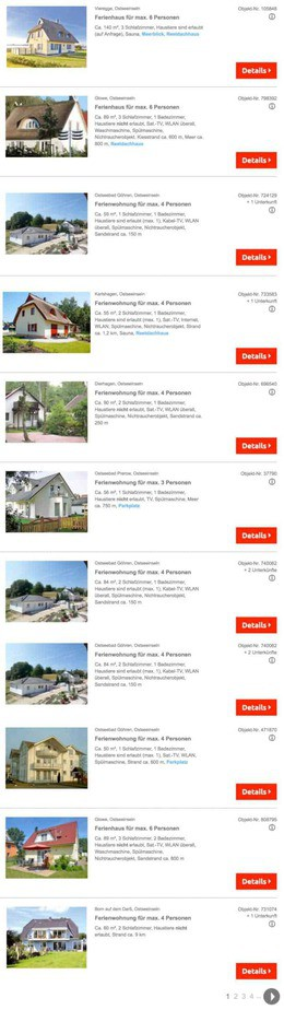Ostsee Ferienhaus & Ferienwohnung