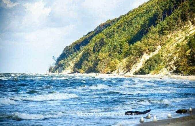 Dannenberg (Domysłów) auf der Insel Wolin