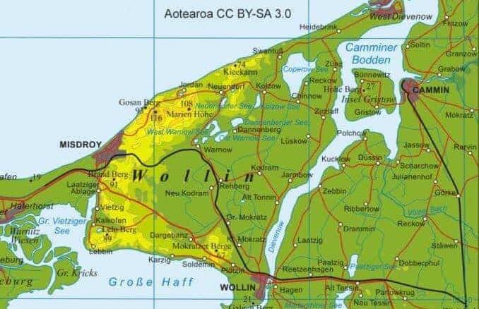 Dargebanz (DargobÄ…dz) auf der Halbinsel Wolin