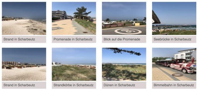 Ostseeurlaubsort Scharbeutz Impressionen