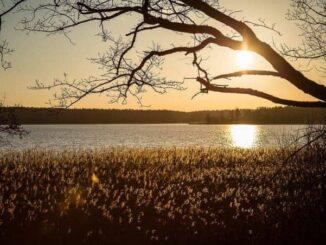 Sonnenuntergang in Neubukow