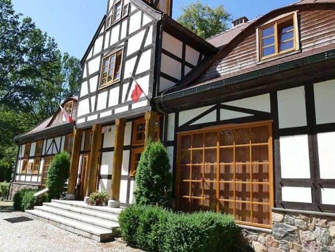 Kleines Haus im Bismarck Landgut