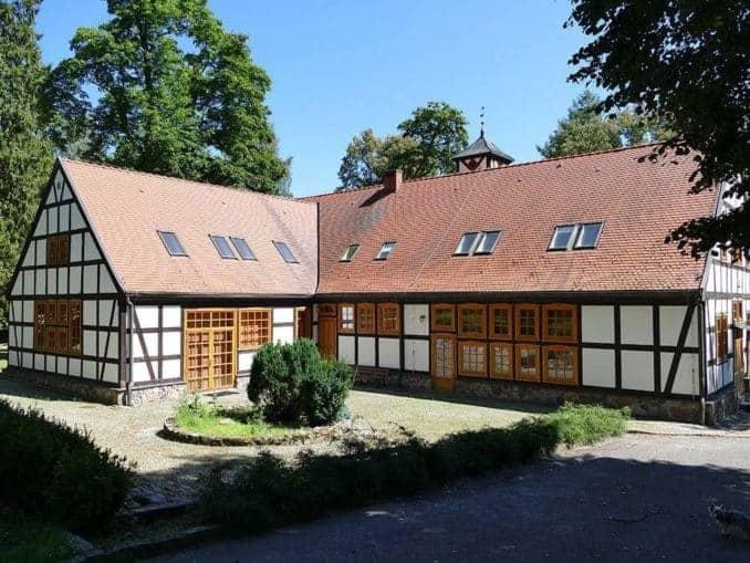 Haus mit Garten im Bismarck Landgut Polen