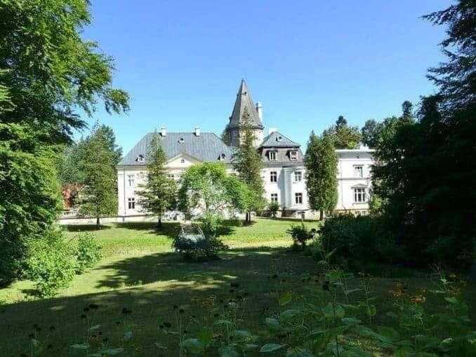 Ausflugsziel Bismarck Landgut in Varzin (Warcino)