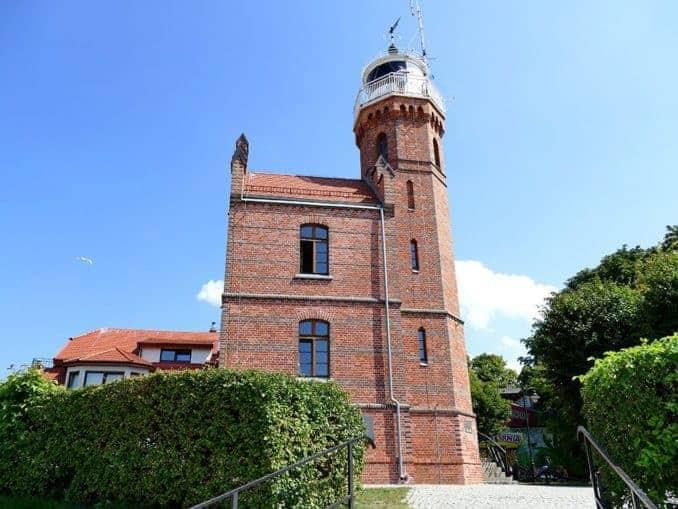 Leuchtturm Ustka (Polnische Ostsee)