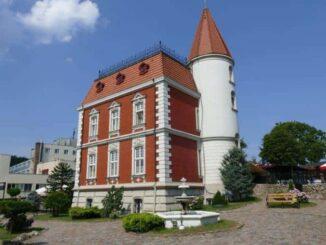 Villa Red in Ustka und Otto von Bismarck 🇵🇱 Ausflugsziele