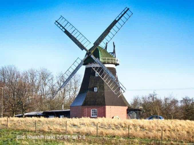 Windmühle Neuburg OT Nantrow