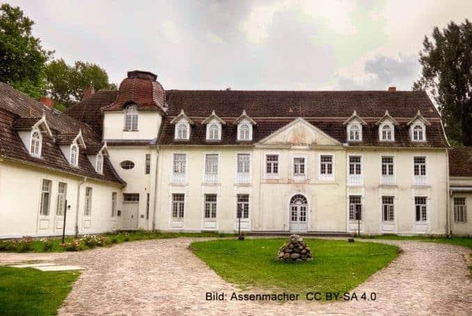 Herrenhaus aus dem 18. Jahrhundert in Buggenhagen