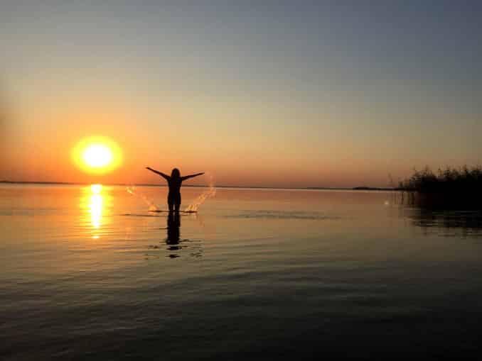 Sonnenuntergang Pudagla