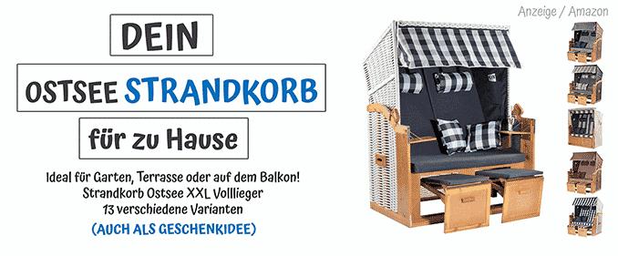 ostseestrandkorbzuhause Urlaub in Mecklenburg-Vorpommern Umfragen, Wissen & Informationen