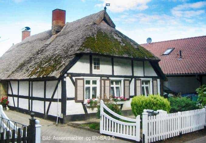 Fachwerkhaus in Wusterhusen