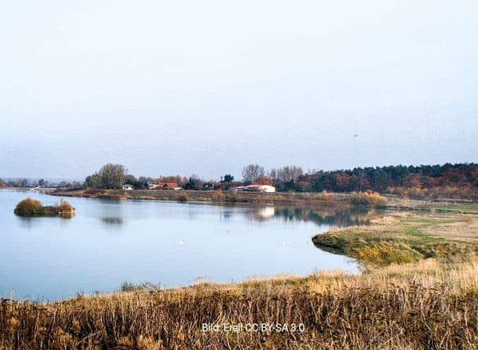 Kiessee bei Zarrenthin , Gemeinde Bentzin,