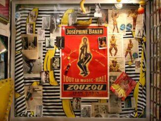 Josephine Baker Plakat im Bananenmuseum Sierksdorf