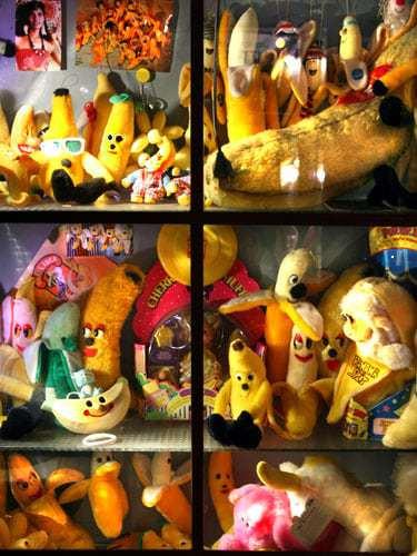 Kuscheltier Ausstellung im Bananenmuseum Sierksdorf