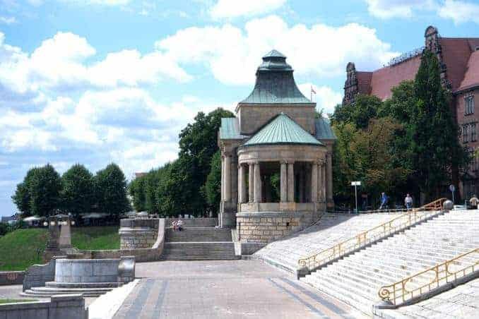 Treppe in Stettin (Szczecin)