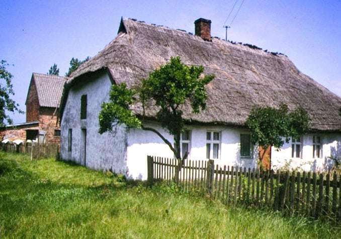 Altes Fischerhaus in Karsibor Polnische Ostsee