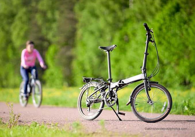 Klapp-Fahrrad