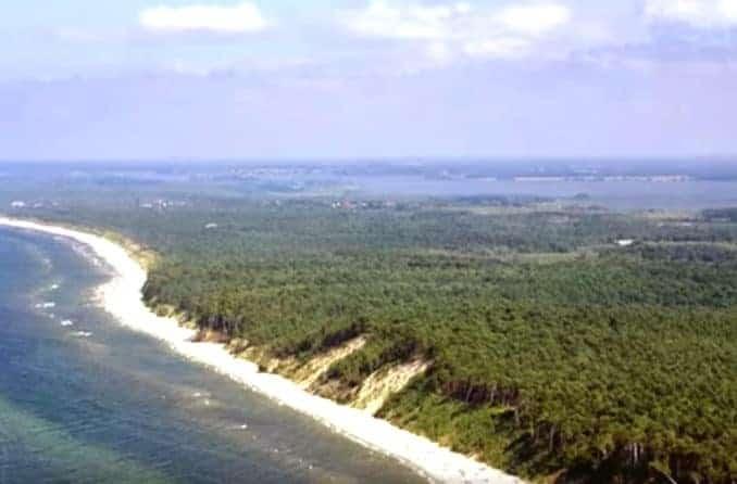 Kolzow auf Usedom - Polnische Ostsee