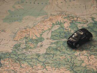 Mit dem Auto an der Ostsee