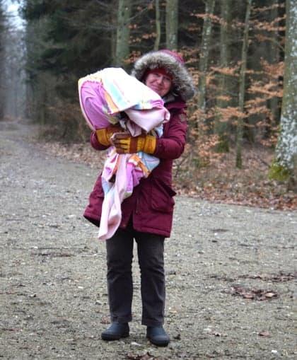 Seeadler Rettung Pansevitzer Wald