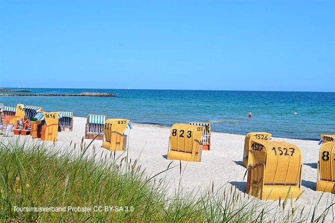 Strand in Schönberg-Kalifornien