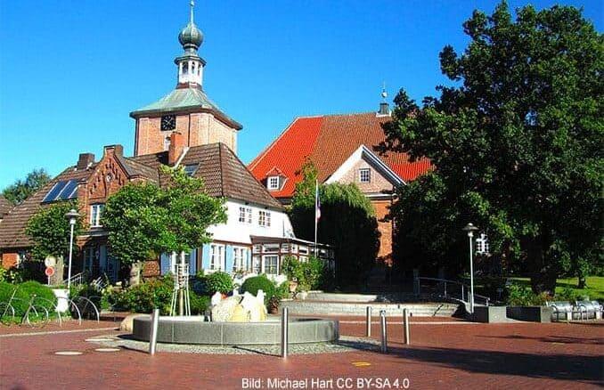 Marktplatz von Schönberg (Holstein)