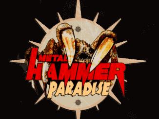Logo des Metal Hammer Paradise Festivals am Weissenhäuser Strand (Schleswig Holstein)