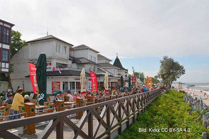 Strandpromenade-Mielno Urlaub in Mielno (Polnische Ostsee) 🇵🇱 Urlaubsorte