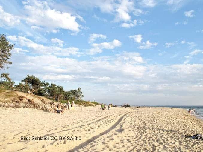 Strand von Hel (Polnische Ostsee)