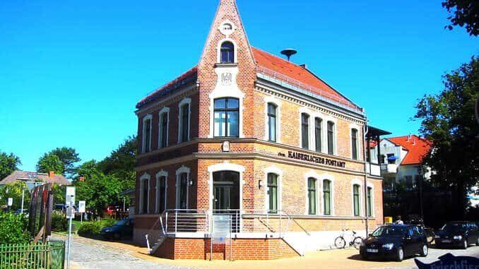 Kaiserliches Postamt in Wustrow
