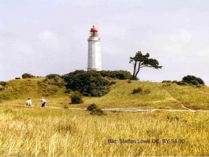 Leuchtturm Dornbusch auf Hiddensee