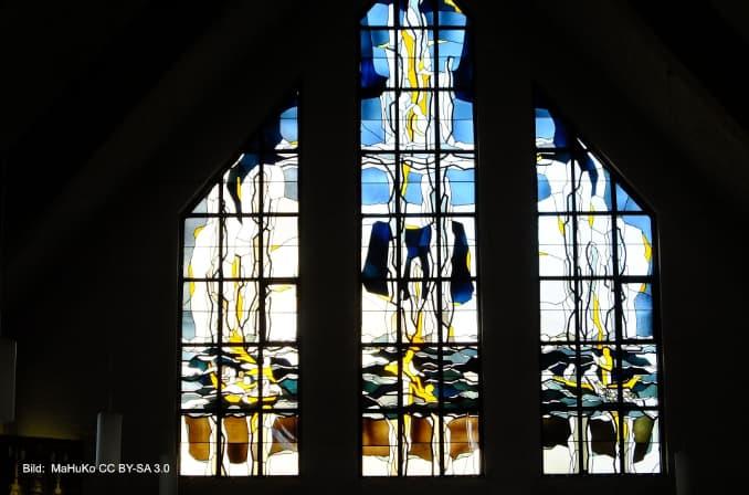 Glasbilder der St.-Stephanus-Kirche