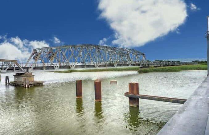 Meiningenbrücke Puchten nach Zingst