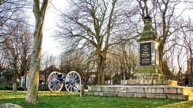 Süderschanzen Denkmal in Eckernförde