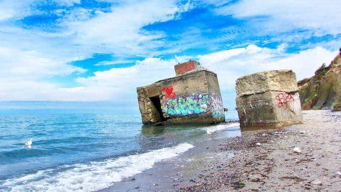 Steilküste Bunker bei Wustrow Fischland-Darß-Zingst