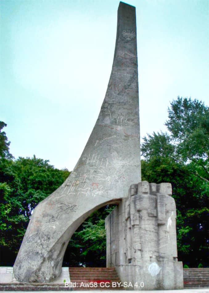 Denkmal von der Seite