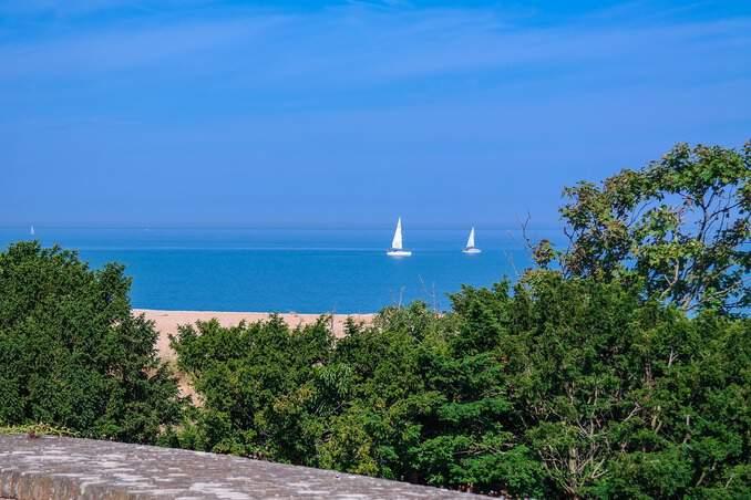 Hotels Polnische Ostsee mit Meerblick