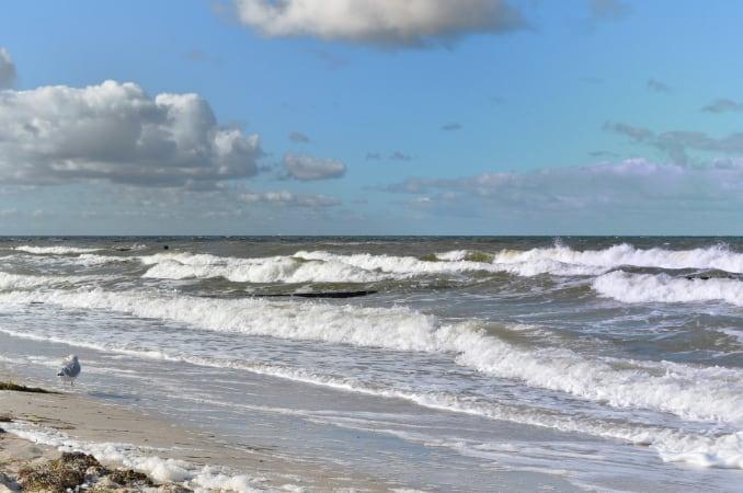 Ostsee Wellen Wassersport