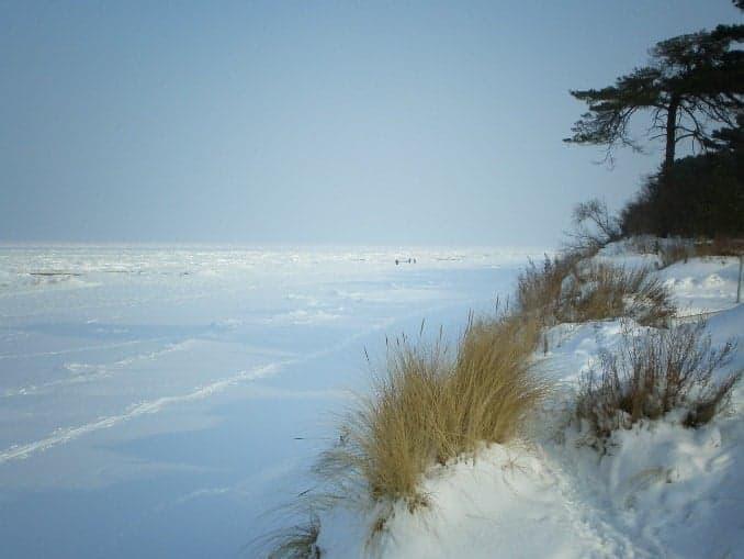 Winter auf der Insel Usedom
