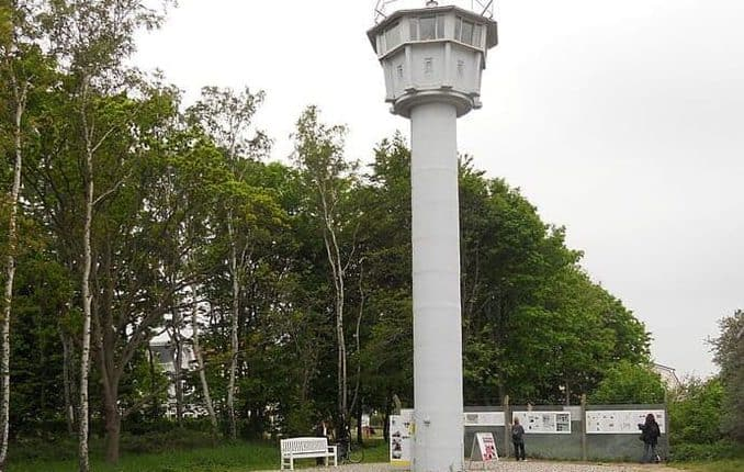 Grenzturm Kühlungsborn an der Ostseeküste