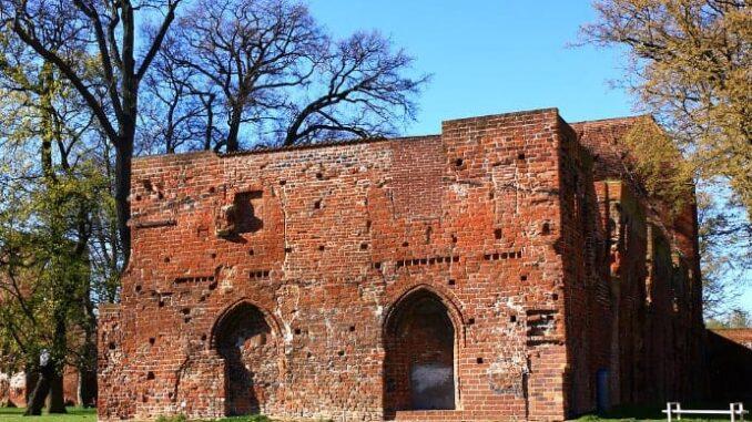 Klosterruine Eldena - Zistantienerkloster bei Greifswald
