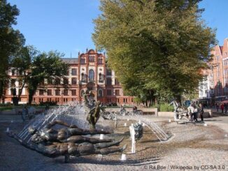 Rostock - Brunnen der Lebensfreude